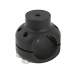 ALUMINIUM CLAMP  WATER PUMP SUPPORT BLACK ANODIZED