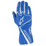 Glove Tech 1-K Race Blue Withe