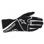 Glove Tech 1-K Race Black White